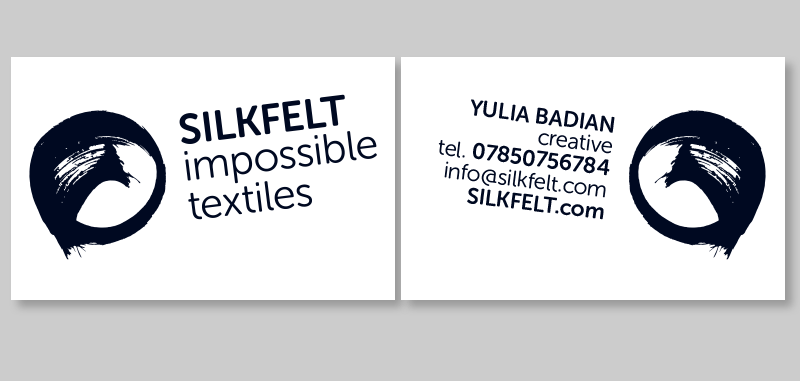 Business card<br/>