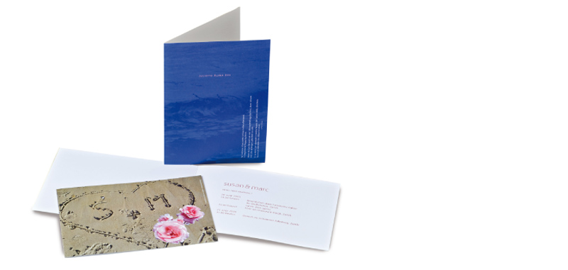 / WEDDING + BIRTHCARD FROM SUSANNE MACK & MARC PAYOT